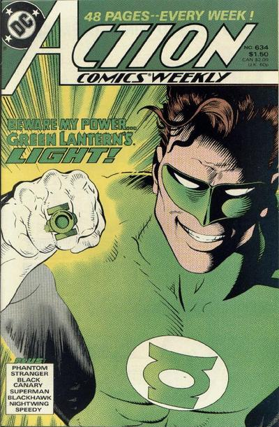 Cover for Action Comics Weekly (DC, 1988 series) #634