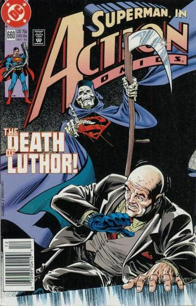 Cover for Action Comics (1938 series) #660 [Newsstand]