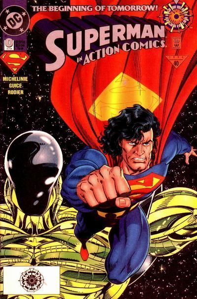 Cover for Action Comics (DC, 1938 series) #0 [Direct Sales]