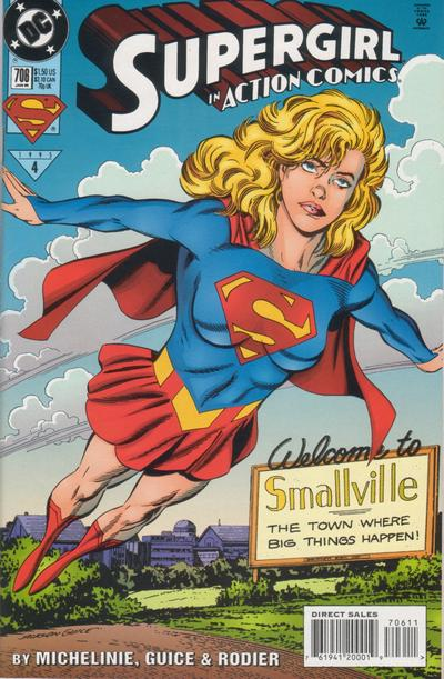 Cover for Action Comics (1938 series) #706