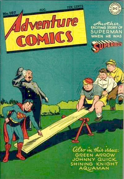 Cover for Adventure Comics (DC, 1938 series) #107