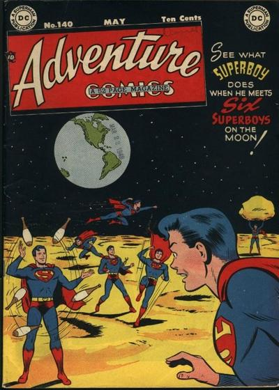 Cover for Adventure Comics (DC, 1938 series) #140