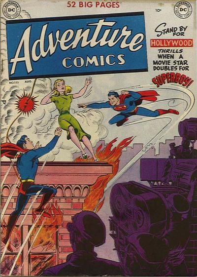Cover for Adventure Comics (1938 series) #155