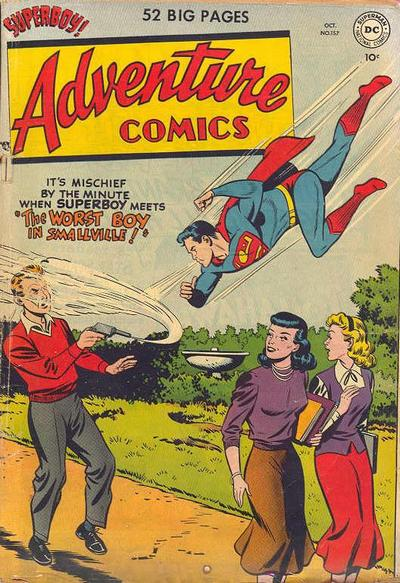 Cover for Adventure Comics (DC, 1938 series) #157