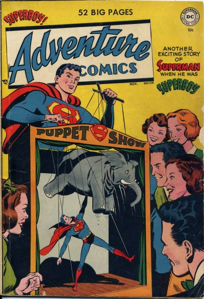 Cover for Adventure Comics (DC, 1938 series) #158