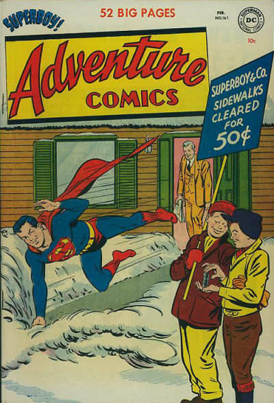 Cover for Adventure Comics (DC, 1938 series) #161
