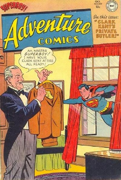 Cover for Adventure Comics (DC, 1938 series) #169