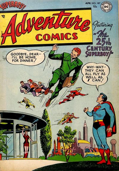 Cover for Adventure Comics (DC, 1938 series) #187