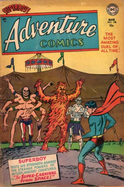 Cover for Adventure Comics (1938 series) #198