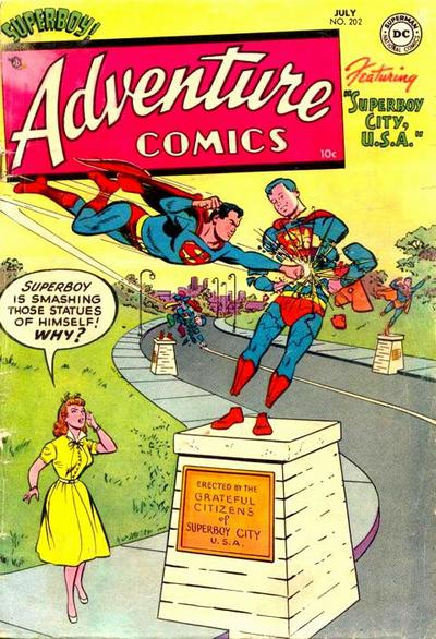 Cover for Adventure Comics (1938 series) #202