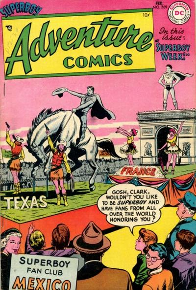 Cover for Adventure Comics (DC, 1938 series) #209