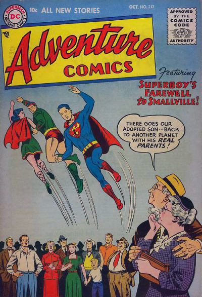 Cover for Adventure Comics (DC, 1938 series) #217
