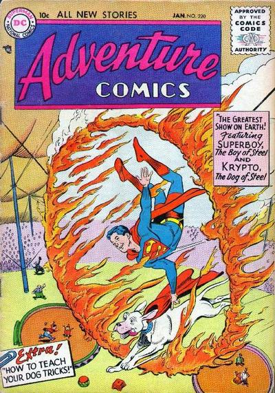 Cover for Adventure Comics (DC, 1938 series) #220