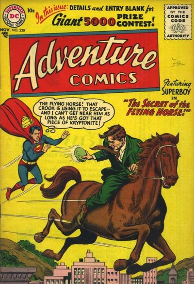 Cover for Adventure Comics (DC, 1938 series) #230