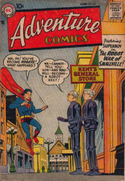 Cover for Adventure Comics (1938 series) #237