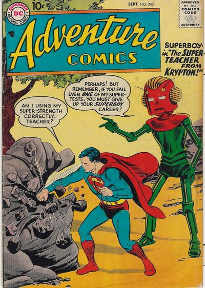 Cover for Adventure Comics (DC, 1938 series) #240