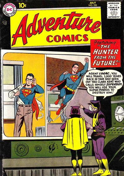 Cover for Adventure Comics (1938 series) #250