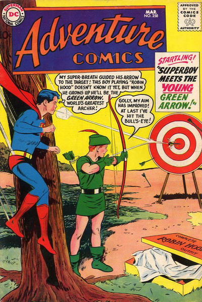 Cover for Adventure Comics (1938 series) #258
