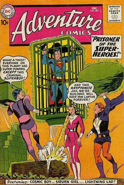 Cover for Adventure Comics (1938 series) #267
