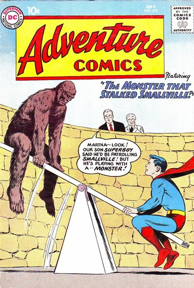 Cover for Adventure Comics (DC, 1938 series) #274
