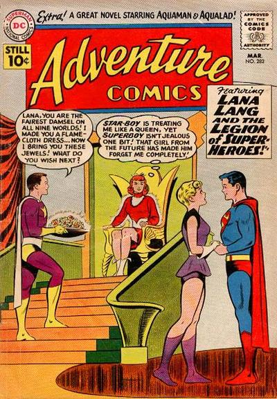 Cover for Adventure Comics (1938 series) #282