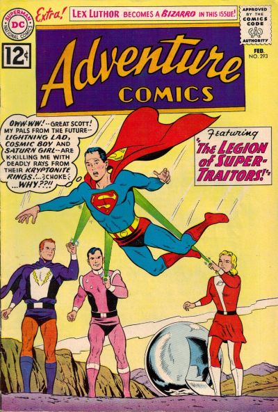 Cover for Adventure Comics (DC, 1938 series) #293