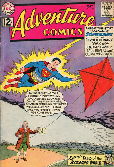 Cover for Adventure Comics (DC, 1938 series) #296