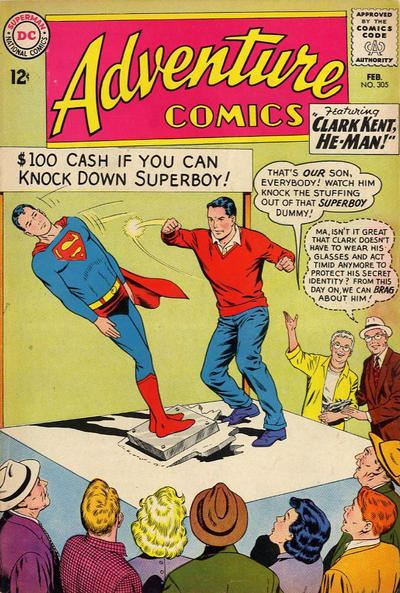 Cover for Adventure Comics (1938 series) #305