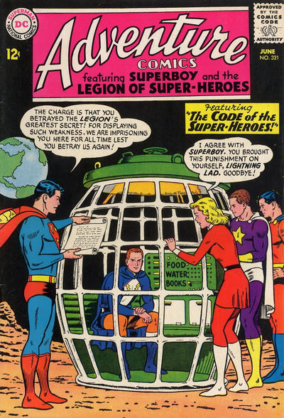 Cover for Adventure Comics (DC, 1938 series) #321