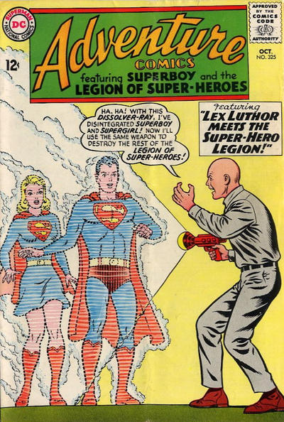 Cover for Adventure Comics (DC, 1938 series) #325