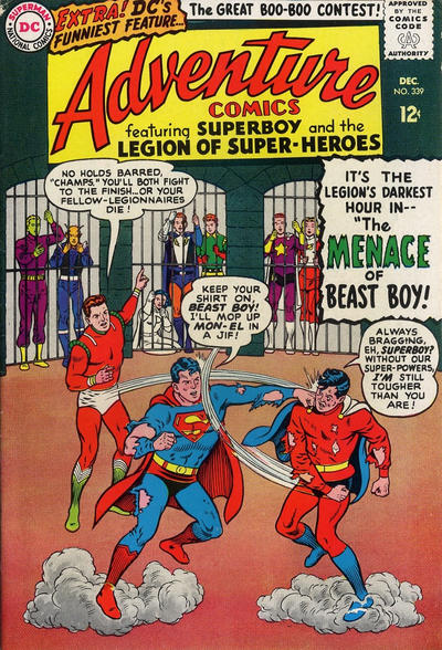 Cover for Adventure Comics (1938 series) #339