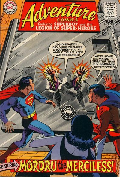 Cover for Adventure Comics (DC, 1938 series) #369