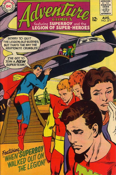 Cover for Adventure Comics (DC, 1938 series) #371