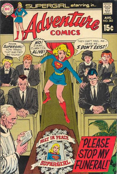 Cover for Adventure Comics (1938 series) #383