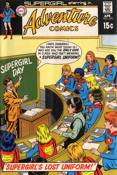 Cover for Adventure Comics (1938 series) #392