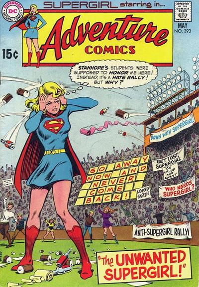 Cover for Adventure Comics (DC, 1938 series) #393