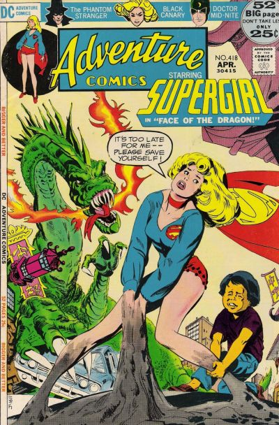 Cover for Adventure Comics (DC, 1938 series) #418