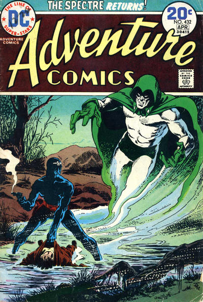 Cover for Adventure Comics (DC, 1938 series) #432