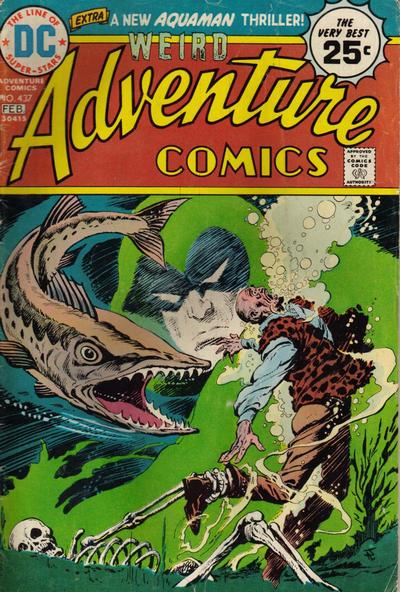 Cover for Adventure Comics (1938 series) #437
