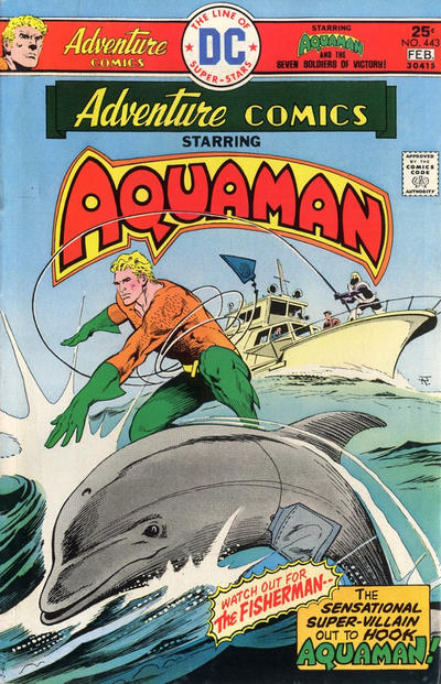 Cover for Adventure Comics (DC, 1938 series) #443