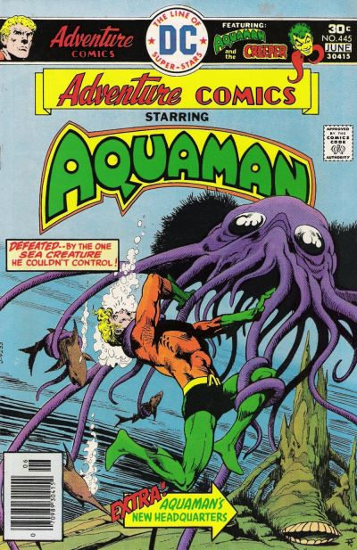 Cover for Adventure Comics (DC, 1938 series) #445