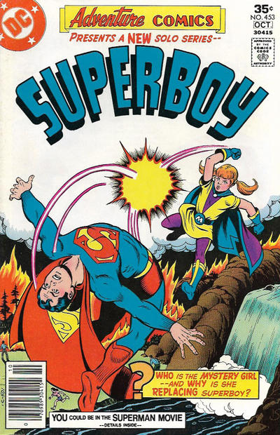 Cover for Adventure Comics (DC, 1938 series) #453