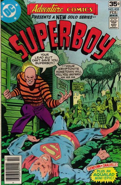 Cover for Adventure Comics (1938 series) #455