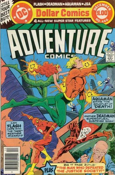 Cover for Adventure Comics (DC, 1938 series) #466