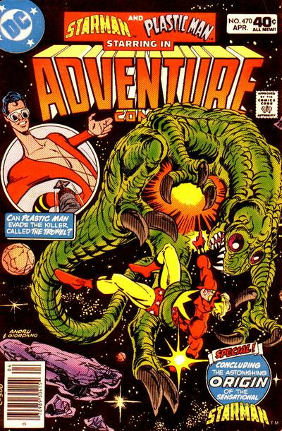 Cover for Adventure Comics (DC, 1938 series) #470