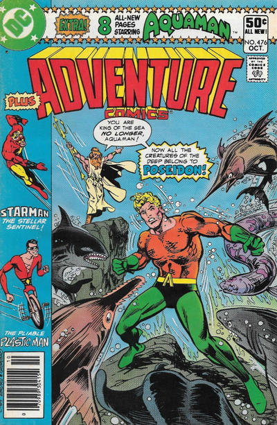 Cover for Adventure Comics (DC, 1938 series) #476 [Direct Sales Variant]