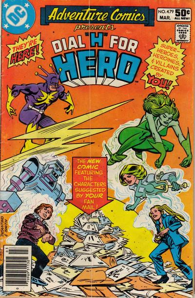 Cover for Adventure Comics (1938 series) #479