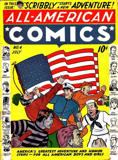Cover for All-American Comics (DC, 1939 series) #4
