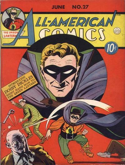 Cover for All-American Comics (1939 series) #27