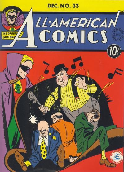 Cover for All-American Comics (DC, 1939 series) #33